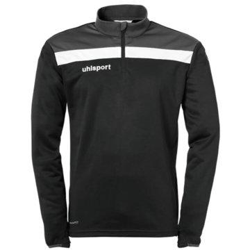 Uhlsport SweatshirtsOFFENSE 23 1/4 ZIP TOP - 1002212K schwarz