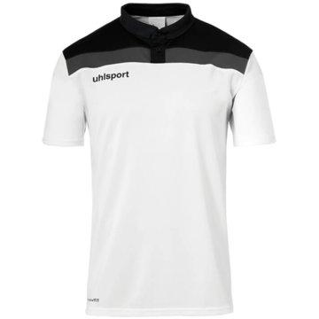 Uhlsport PoloshirtsOFFENSE 23 POLO SHIRT - 1002213 weiß