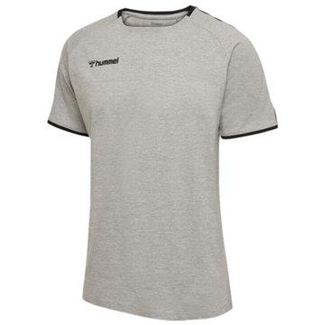 Hummel T-Shirts grau