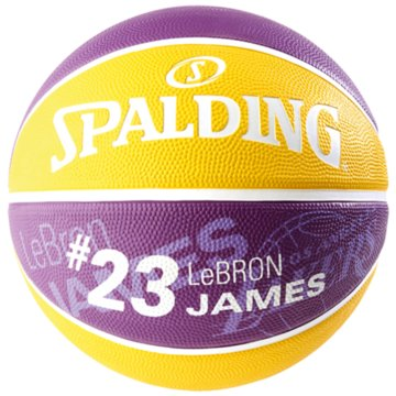 Spalding BasketbälleNBA PLAYER LEBRON JAMES SZ.7 - 30015894017 lila