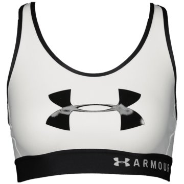 Under Armour Sport-BHsMid Keyhole Logo Graphic Bra Women -
