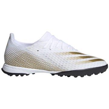 adidas Multinocken-SohleX Ghosted.3 TF weiß