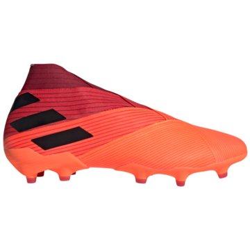 adidas Nocken-SohleNemeziz 19+ FG orange