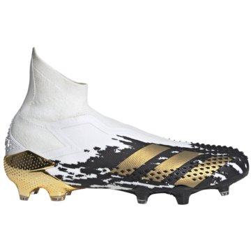 adidas Stollen-SohlePredator Mutator 20+ FG weiß