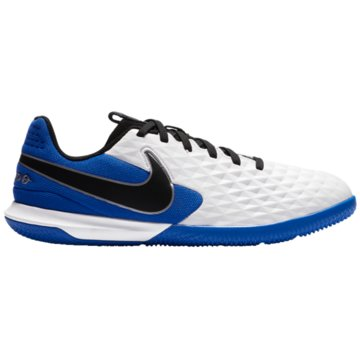 Nike Hallen-SohleNike Jr. Tiempo Legend 8 Academy IC Little/Big Kids' Indoor/Court Soccer Shoe - AT5735-104 weiß
