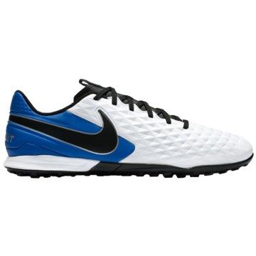 Nike Multinocken-SohleNike Tiempo Legend 8 Academy TF Artificial-Turf Soccer Shoe - AT6100-104 weiß
