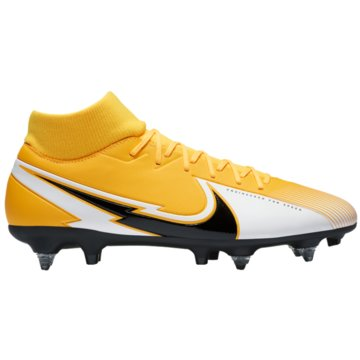 Nike Stollen-SohleNike Mercurial Superfly 7 Academy SG-PRO Anti-Clog Traction Soft-Ground Soccer Cleat - BQ9141-801 orange