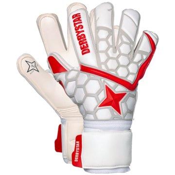 Derby Star TorwarthandschuheAPS WHITE RED STAR II - 2529 -