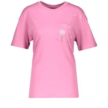 Nike T-ShirtsW NSW TEE NOVEL-TEE 2 PKT - CK4399-693 rosa
