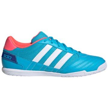 adidas Nocken-SohleSuper Sala blau