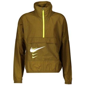 Nike LaufjackenSWOOSH RUN - CU3254-368 oliv