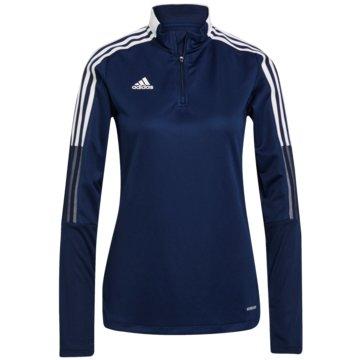 adidas FleecejackenTIRO 21 TRAININGSOBERTEIL - GK9660 blau