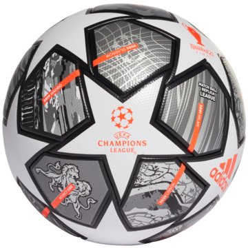 adidas FußbälleFINALE 21 20TH ANNIVERSARY UCL LEAGUE BALL - GK3468 weiß