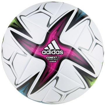 adidas FußbälleCONEXT 21 LEAGUE BALL - GK3489 weiß