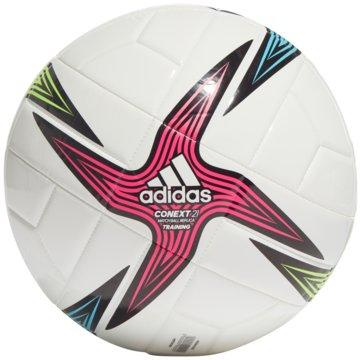 adidas FußbälleCONEXT 21 TRAININGSBALL - GK3491 weiß