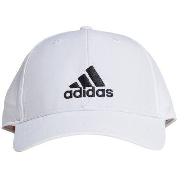 adidas CapsLIGHTWEIGHT EMBROIDERED BASEBALL KAPPE - GM6260 weiß