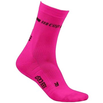 Medi Hohe Socken NEON MID-CUT SOCKS, NEON YELLOW - WP2CG pink
