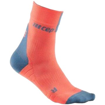 CEP Hohe Socken SHORT SOCKS 3.0, BLUE/GREY, WOM - WP4BX rosa