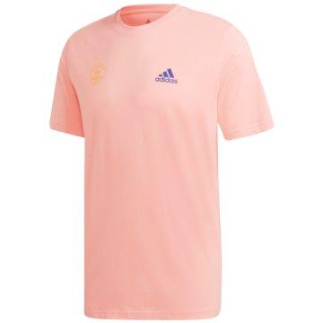 adidas T-ShirtsSNACK PHOTO TEE - GE4665 rosa