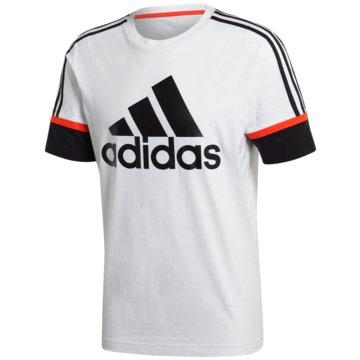 adidas T-ShirtsOSR M LOGO TEE - GL7645 weiß