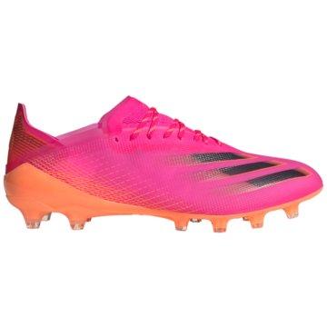 adidas Nocken-SohleX GHOSTED.1 AG FUßBALLSCHUH - FW6976 pink