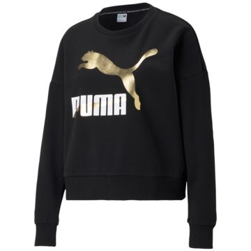 Puma SweatshirtsCLASSICS LOGO CREW - 599573 schwarz