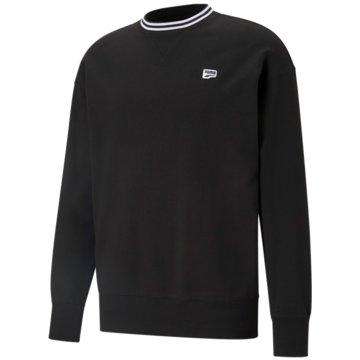 Puma SweatshirtsDOWNTOWN CREW - 599772 schwarz