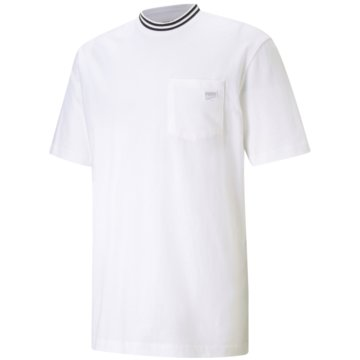Puma T-ShirtsDOWNTOWN POCKET TEE - 599777 weiß