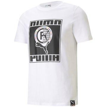 Puma T-Shirts INTL TEE - 599804 weiß
