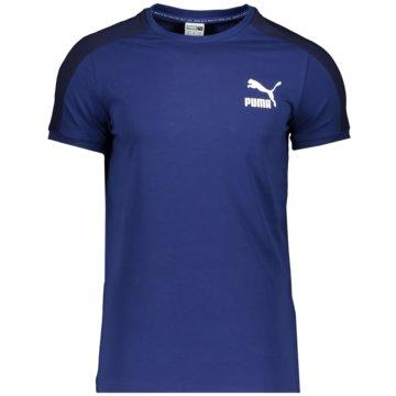 Puma T-ShirtsICONIC T7 TEE - 599869 blau