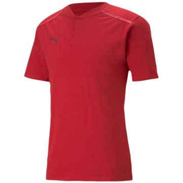 Puma PoloshirtsTEAMCUP CASUALS POLO - 656742 rot