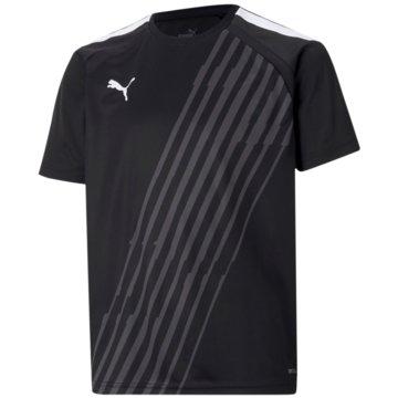 Puma T-ShirtsTEAMLIGA GRAPHIC JERSEY JR - 657218 schwarz