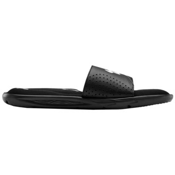 Under Armour Hallenschuhe IGNITE VI SLIDES - 3022711 schwarz