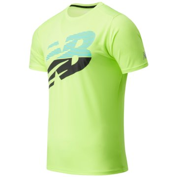 New Balance T-ShirtsPR ACCELERATE SS - MT03204_BIO gelb
