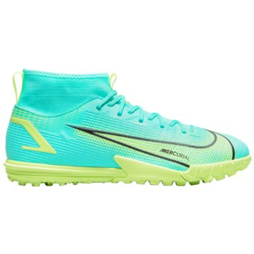 Nike Multinocken-SohleJR. MERCURIAL SUPERFLY 8 ACADEMY TF - CV0789-403 türkis