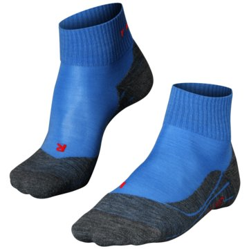 Falke Hohe SockenTK5 SHORT DAMEN SOCKEN - 16473 blau