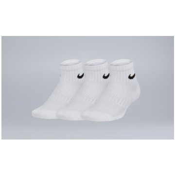 Nike Füßlinge & SneakersockenKids' Nike Performance Cushioned Quarter Training Socks (3 Pair) - SX6844-100 weiß
