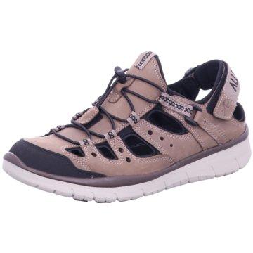 Allrounder Komfort Sandale braun
