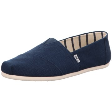 TOMS Slipper blau