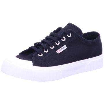Superga Sneaker Low schwarz
