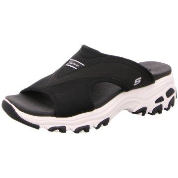 Skechers Komfort Pantolette schwarz