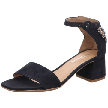 Alpe Woman Shoes Riemchensandalette blau