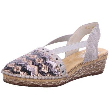 Rieker Espadrilles Sandalen für Damen günstig auf 3t9KG