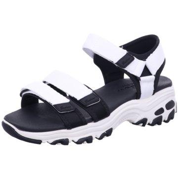 Skechers Komfort Sandale weiß