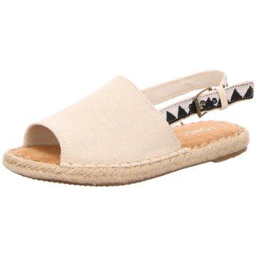 TOMS Sandale beige