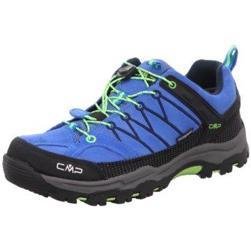CMP Wander- & BergschuhKIDS RIGEL LOW TREKKING SHOE KIDS W - 3Q54554J blau