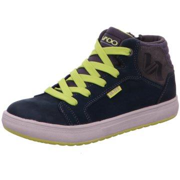 Vado Sneaker HighDean blau
