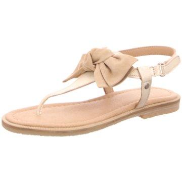 CliC Offene Schuhe beige