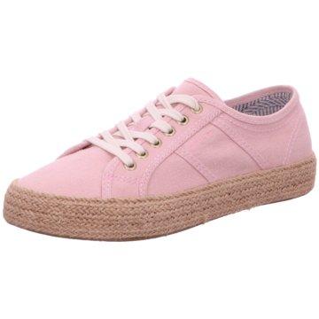 Gant Espadrilles Schnürschuhe rosa
