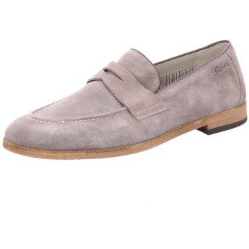 Sioux Klassischer Slipper grau
